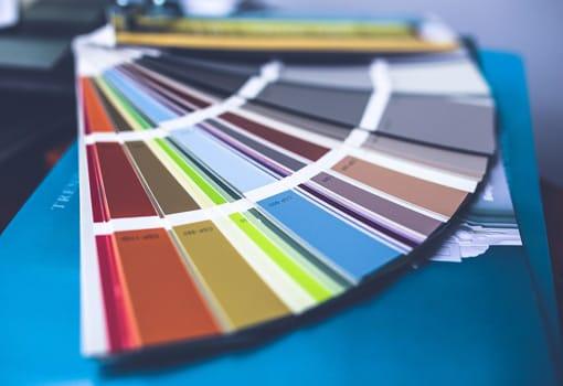 palette couleurs rénovations intérieures
